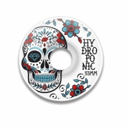 MEXICAN SKULL W 02 Turquoise 53x29,5 wheels Hydroponic