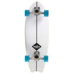 Mindless Surf Skate Fish Tail White
